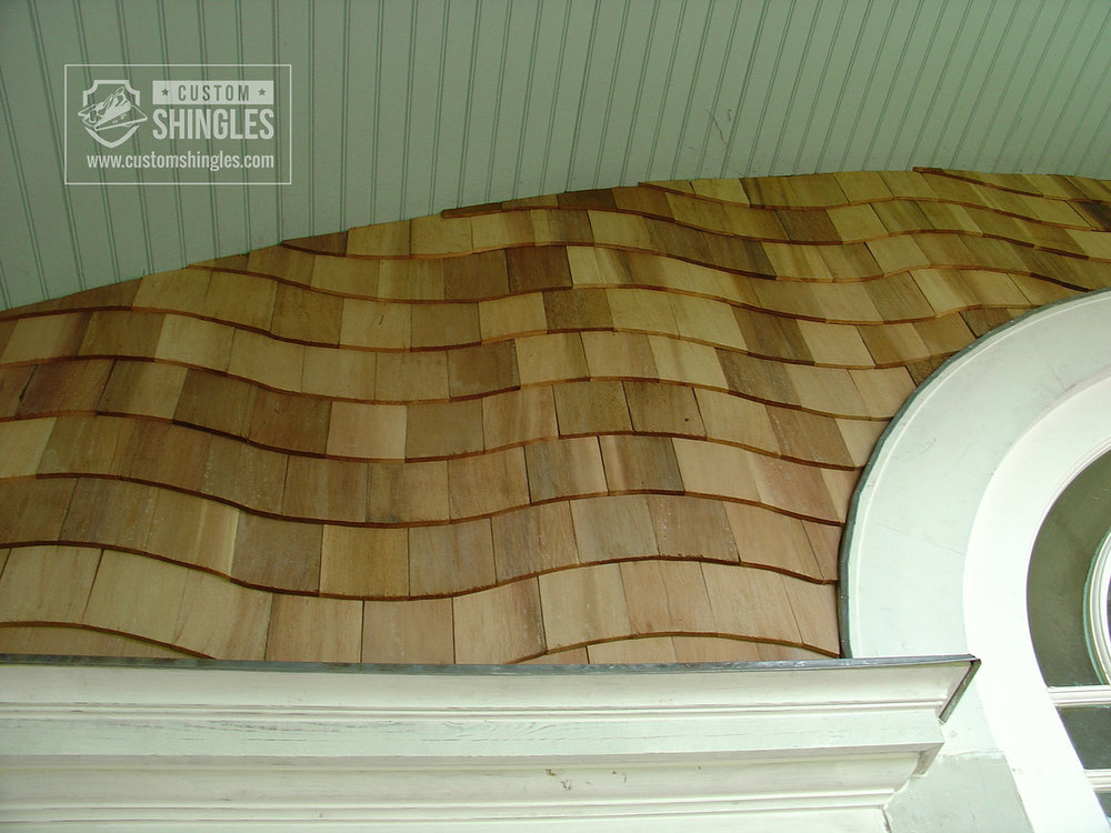natural timber siding