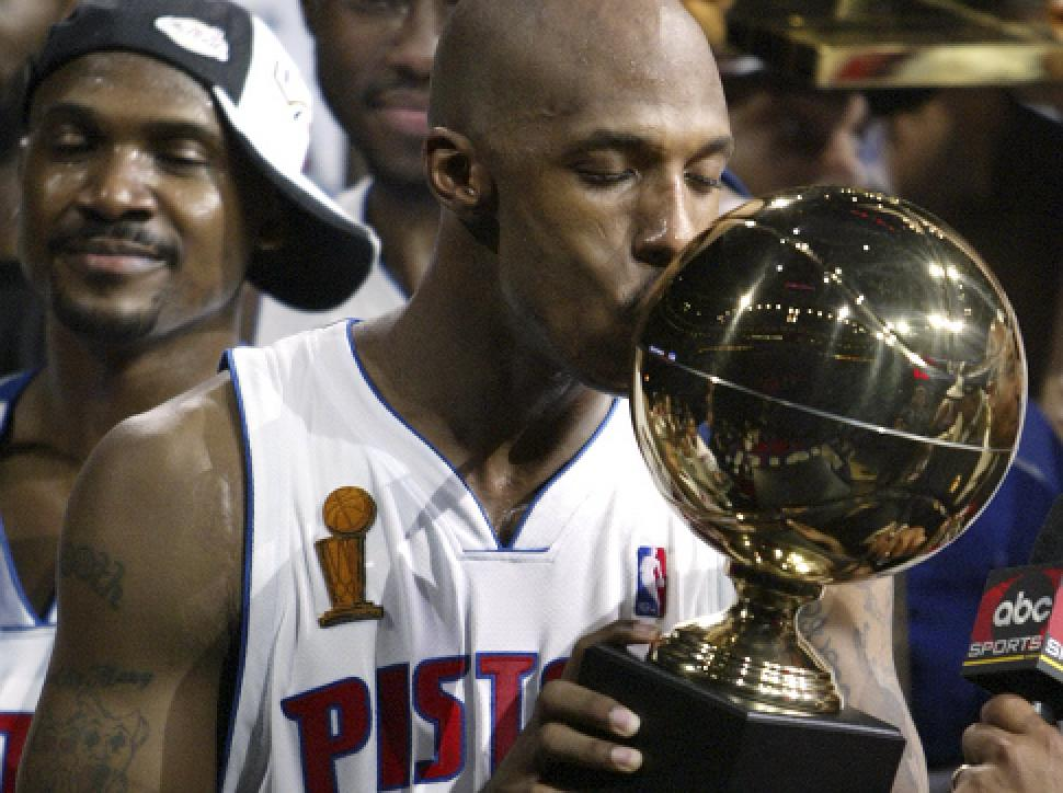 Not many NBA teams have championships. You're responsible for bringing Detroit one and nearly another.