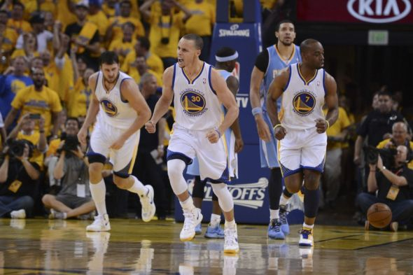 Stephen Curry, NBA Superstar was born during the 2013 NBA Playoffs.