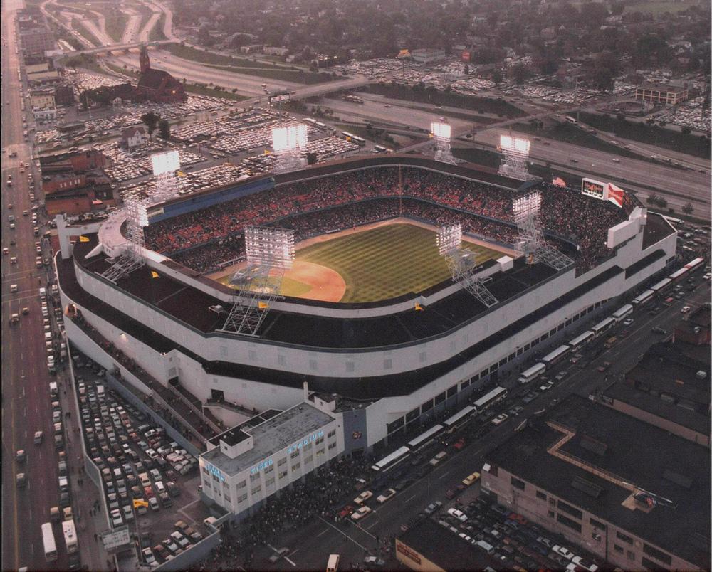 Old Tiger Stadium, Downtown Detroit, Michigan - 1990s