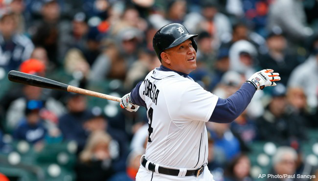 Every April, I manage to talk myself back in to believing this could be the year, which is largely a byproduct of the fact that Miguel Cabrera still bats third in the Tigers' lineup everyday.