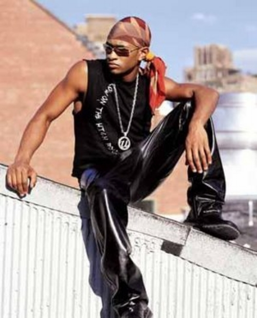 """Initially presented as a fairly unrepentant Lothario in the early 1990s, Usher's first single, """" Call Me a Mack ,"""" was released two months before his fifteenth birthday."""