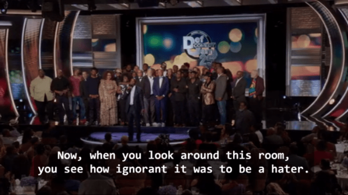 It was cathartic to see these young black folk all grown up. But none of them have changed a bit, except maybe Steve Harvey. And for their jokes, I'm forever grateful.