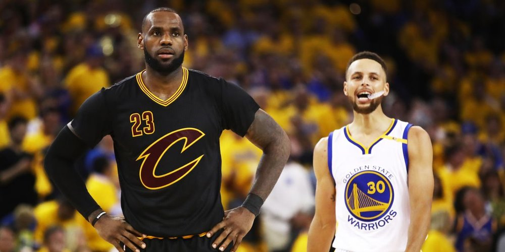 You have LeBron James and Stephen Curry standing up to the office of the president, and instead of rallying around them, the NBA forcefully reminds them to comply with an extremely idiotic rule.  Word.