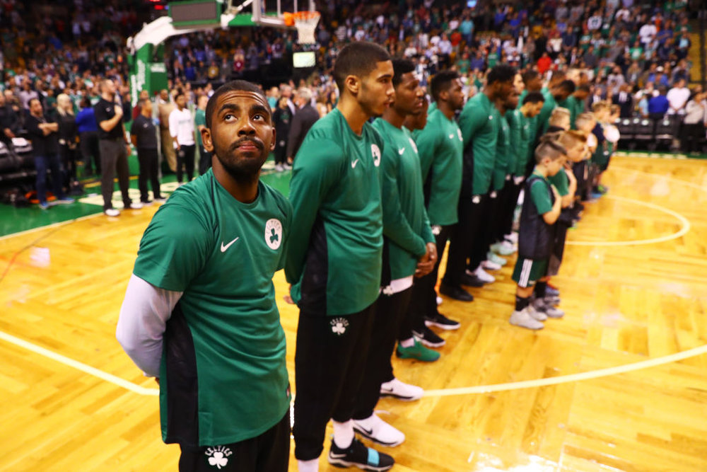 I'm not foolish enough to anticipate a leaguewide anthem protest once the NBA regular season begins. Just like many of the NFL players, these guys have a lot on the line, and I can't begrudge them for putting the financial security of their families over the broad and slightly ambiguous goal of actually slicing through the ignorance and convincing people to listen.