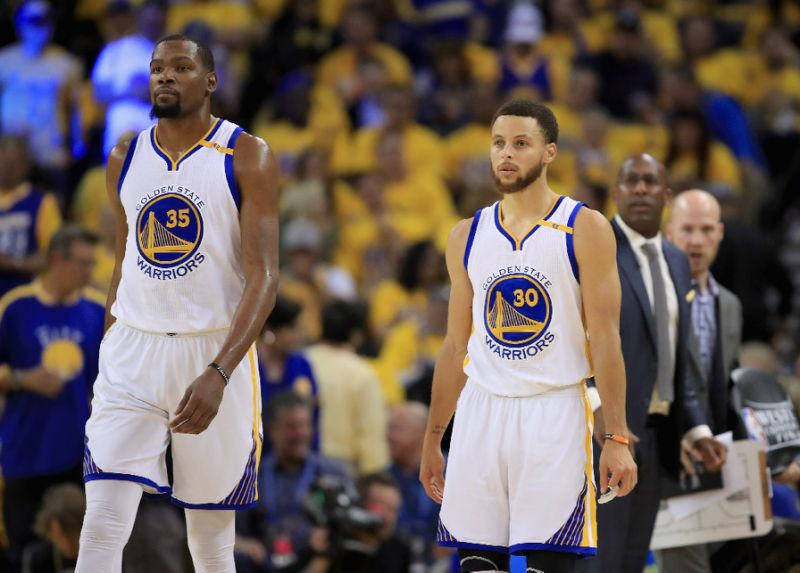 A generational talent — one of the greatest offensive weapons  ever  — joins a 73-win team aiming to fit into a system whose gravity requires the specific shooting talents of one Stephen Curry. Except, Kevin Durant, one of the greatest offensive weapons  ever , is too damn good at scoring the basketball to be subsumed by anybody's gravitational pull.