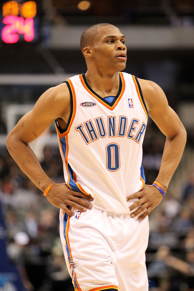 """A 6'3"""" shooting guard who couldn't shoot, Russell Westbrook's early career seemed to hinge on his capacity to both learn how to run a team and be an effective sidekick to Kevin Durant."""