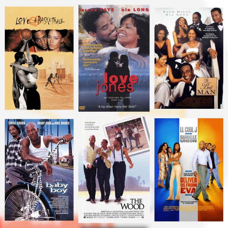 The Black romance films of the mid-1990s introduce this  extremely wild  concept of young, successful, upwardly-mobile African-Americans having the same love issues as, you know, everybody else.