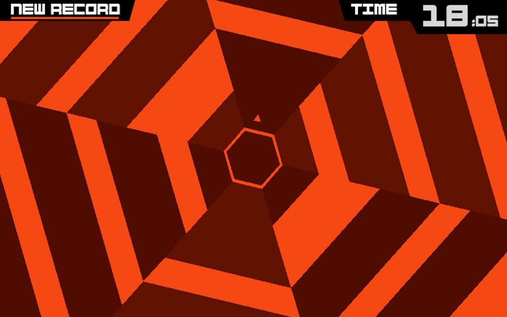 Superhexagon, Game