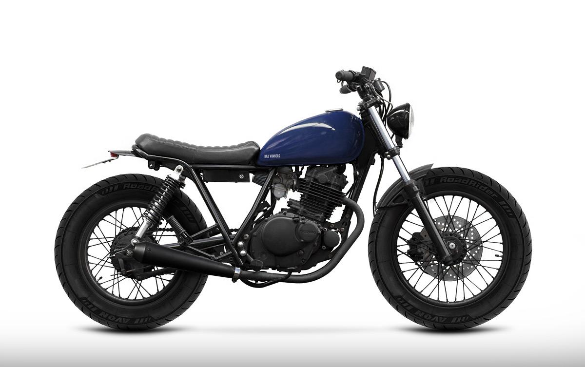 Suzuki GN 125 Serie — Bad Winners - Custom Motorcycles