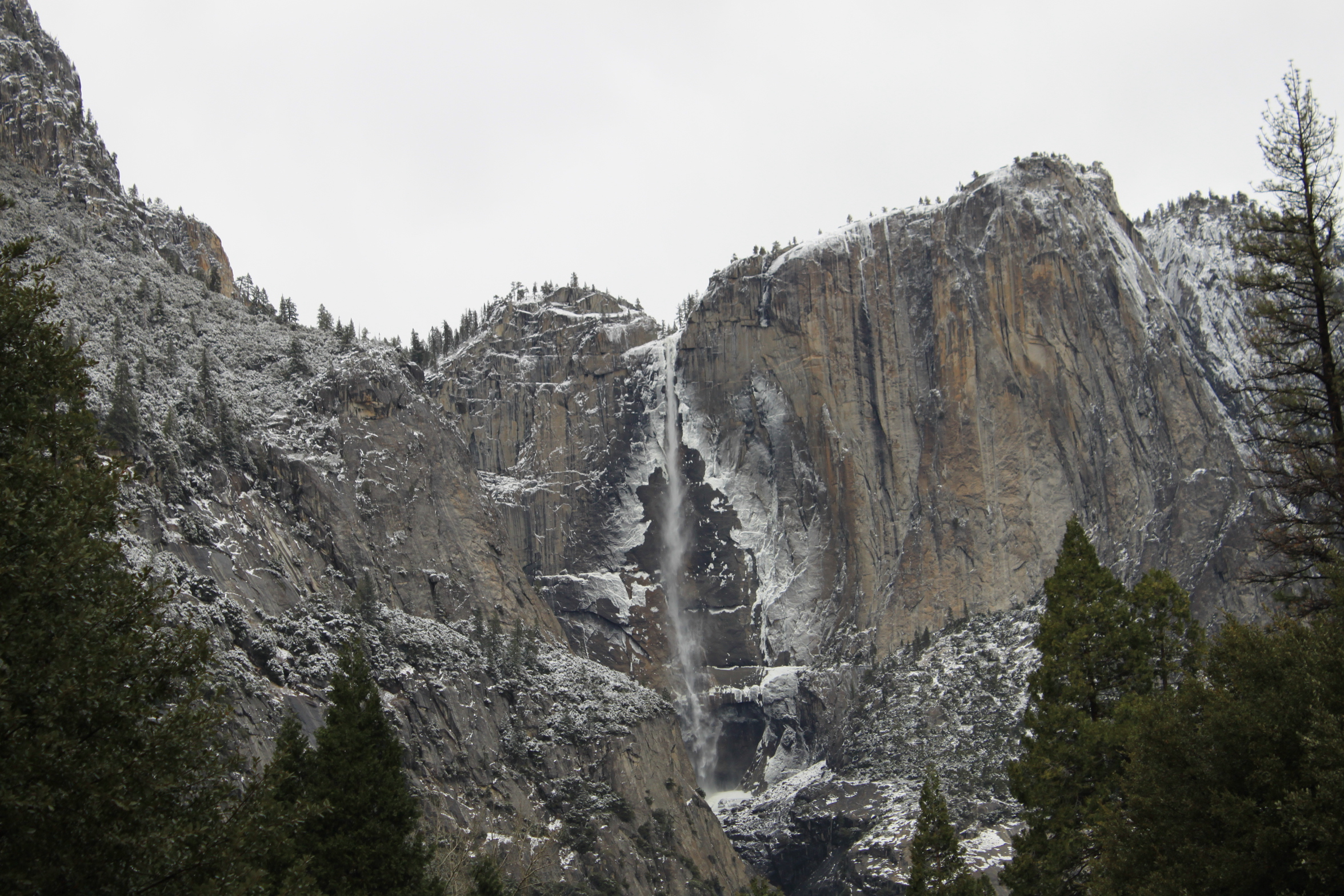 Yosemite National Park in winter, California