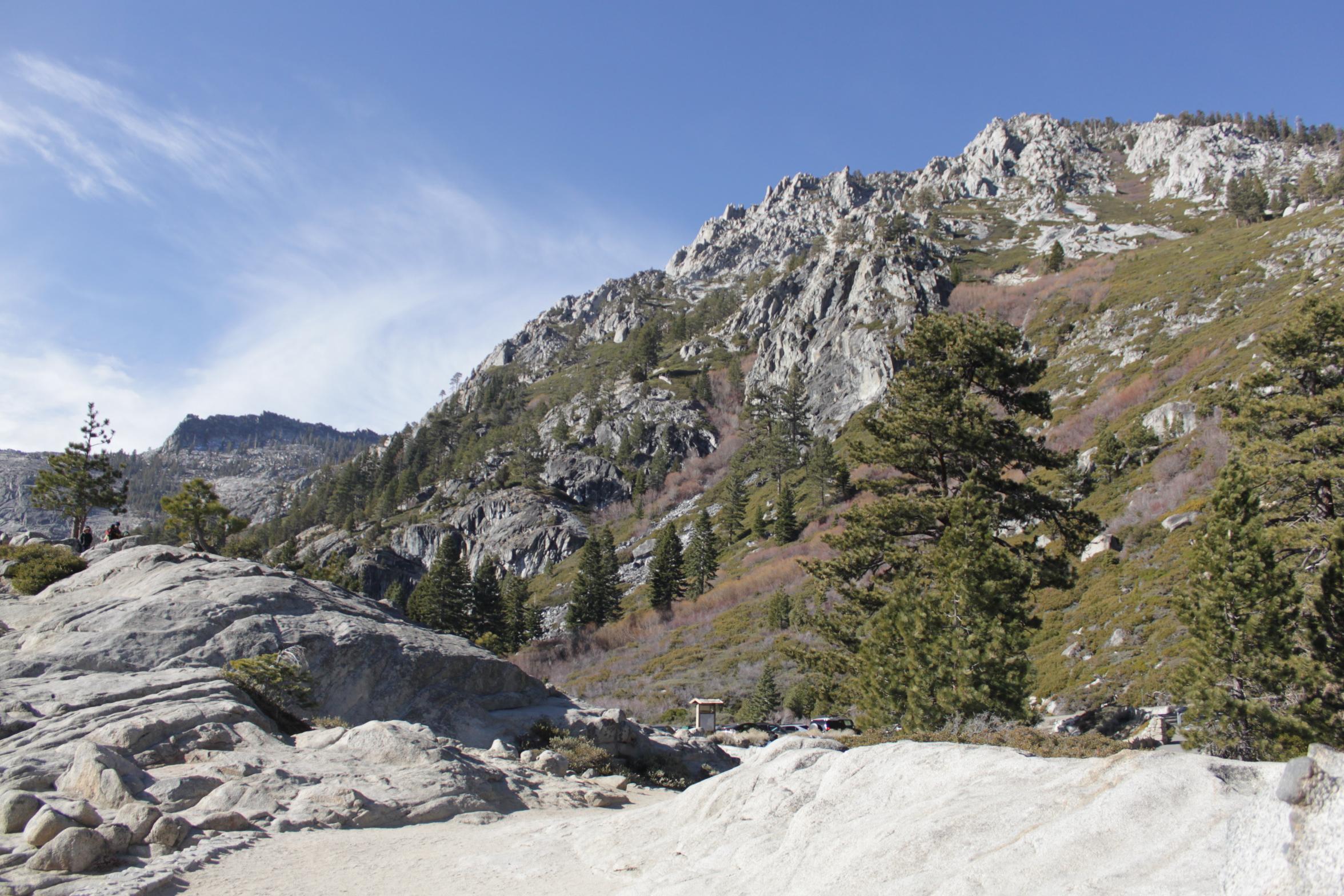 Lake Tahoe in winter, California