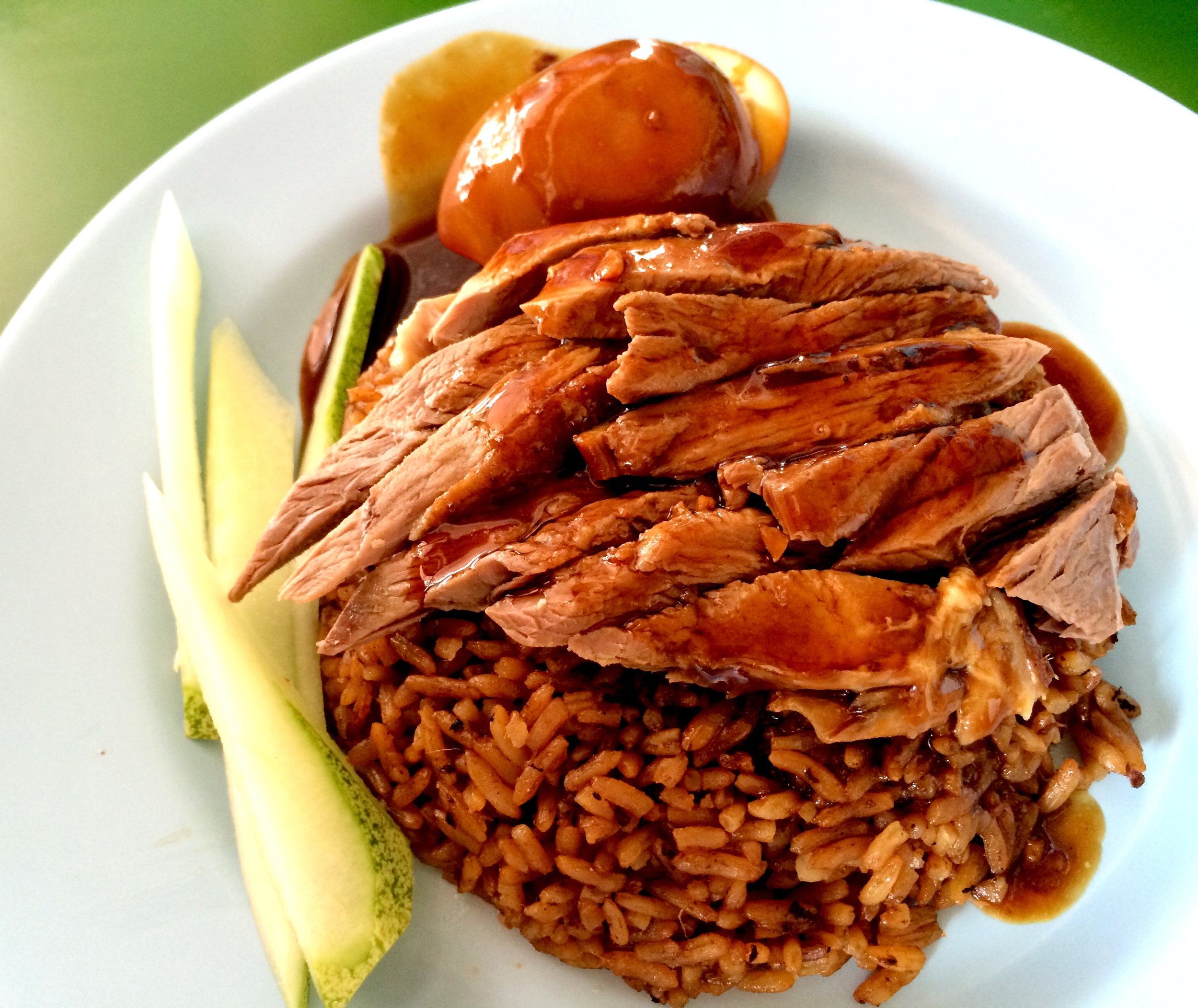 Duck rice: You Ji Duck Rice: Bukit Timah Market and Food Centre, 116 Upper Bukit Timah Road, #02-219, Singapore 588172