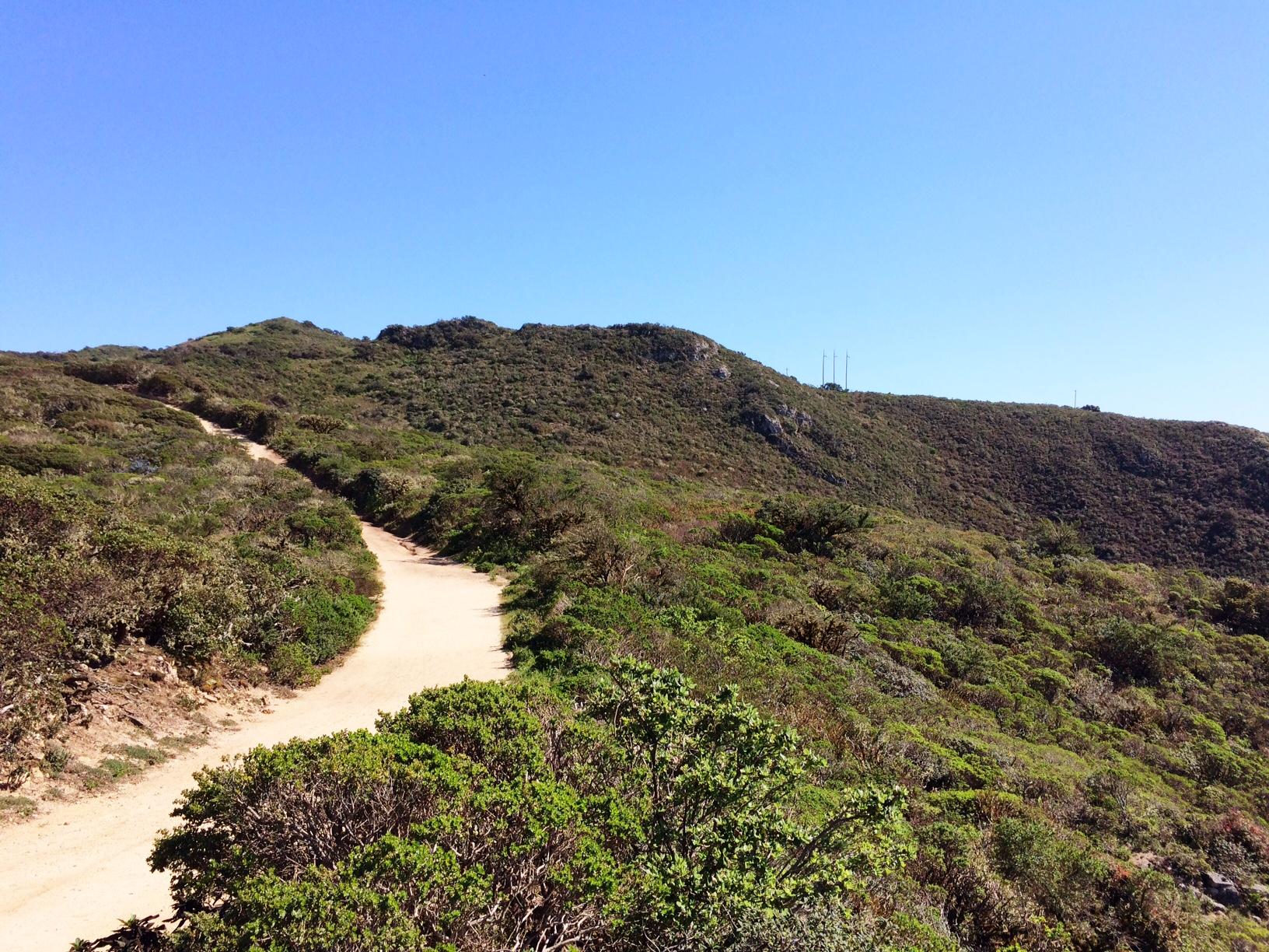 Running Montara trail