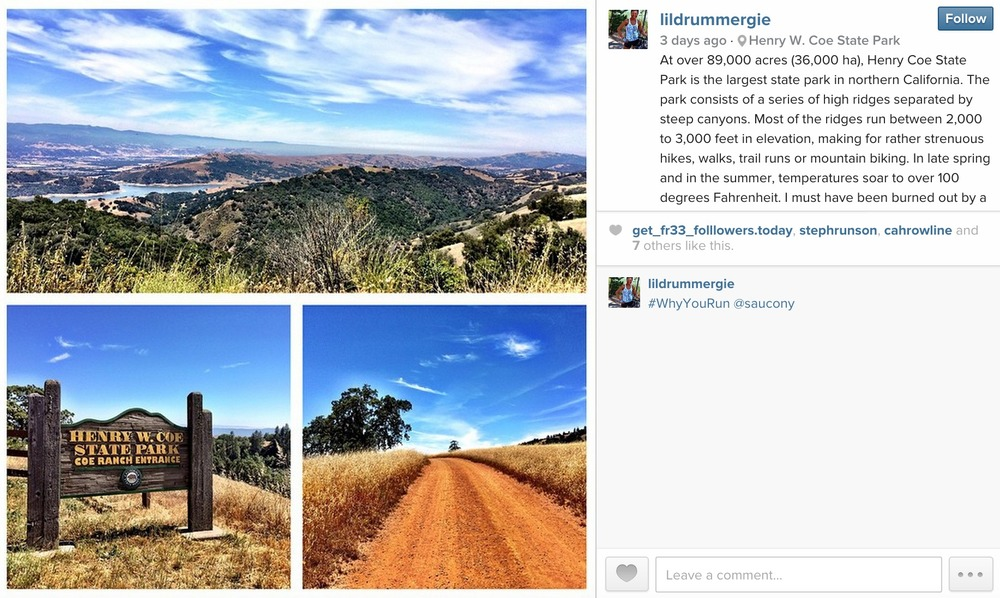 May 30, 2015: Henry Coe State Park, Morgan Hill, California