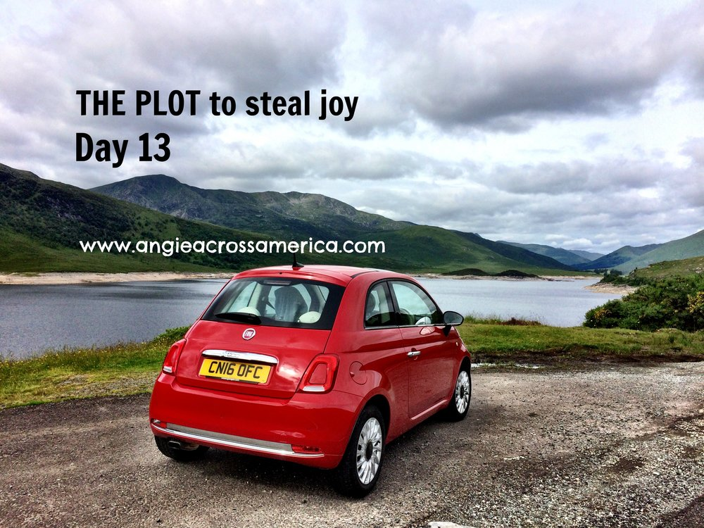 Rented a cute little car and drove to the Scottish Highlands and Isle of Skye in Scotland. Along the way I stopped at the 22-mile long Loch Ness famous for its legendary sea monster Nessie which till today, has no evidential proof really existed. Here's a little trivia: In July 1966, 18-year-old Brenda Sherratt became the first person to swim the length of the loch. It took her 31 hours and 27 minutes.