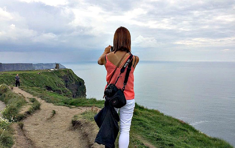 Cliffs of Moher, Ireland. June 2018.   Pic credit: My best friend. ;)