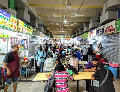 Tekka food center, Little India, Singapore
