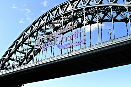 The Great North Run held in September annually