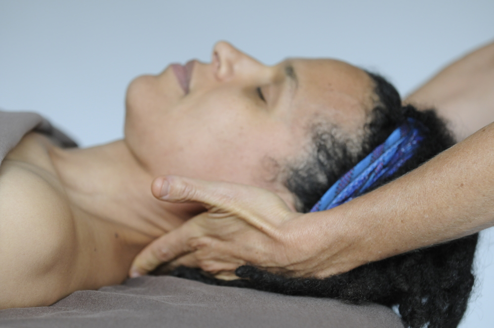 CRANIOSACRAL THERAPY: Experience deeper relaxation than you ever have before and reset from the inside out with this gentle hands-on method of treating tension in the nervous system. Photo courtesy of ABMP