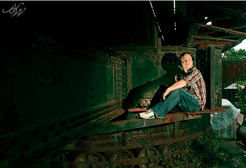 Raw Milk on Location, Chicago  Art Director, Locations, Photography, and Post-Processing: Nicky Watts. Lighting, Rich Castro    I quit marketing myself as a photographer in 2009 because I wasn't satisfied with my camera and my conceptual art was gaining attention. I trusted my intuition and let it lead me, much like I am right now in my new transition.