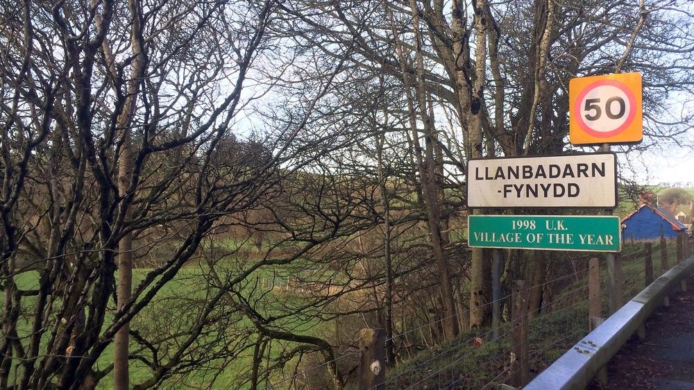 Llanbadarn Fynydd Village