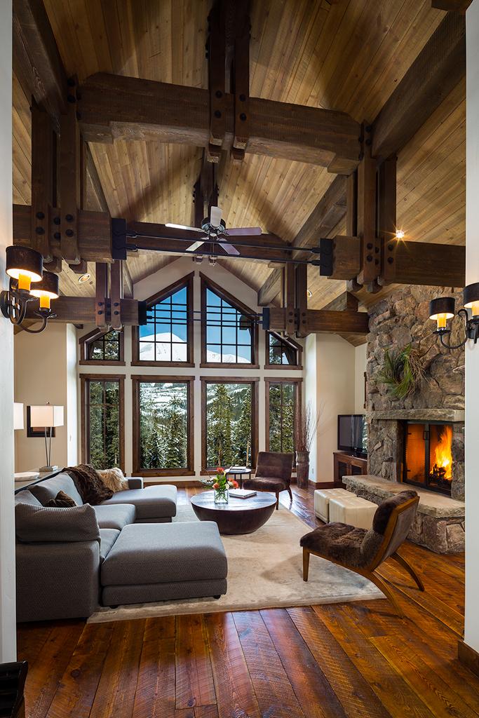 Summit Views by Shelter Interiors | Yellowstone Club | Big Sky, Montana