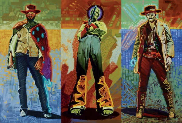 """""""Neon Gunslinger"""" by Micheal Blessing 