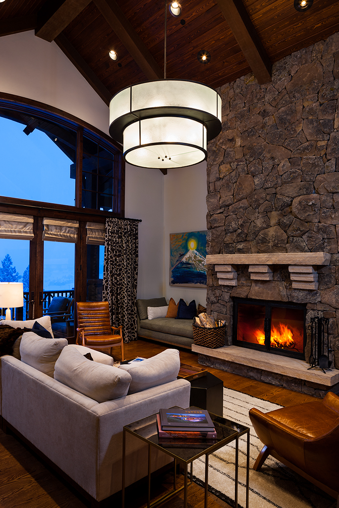 Sunrise Retreat by Shelter Interiors | Yellowstone Club | Big Sky, Montana