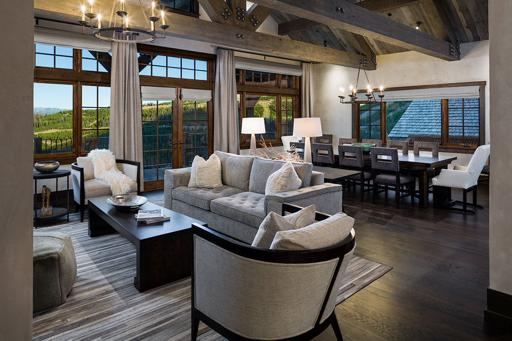 Ski In / Ski Out by Shelter Interiors | Yellowstone Club | Big Sky, Montana