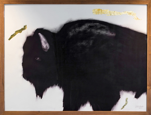 "Custom ""Buffalo"" Lithograph    