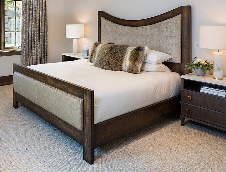 Custom King Bed   by Epoch West