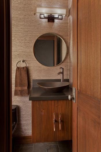 Custom Cabinetry, Vanity, Mirror and Doors   by Brandner Design