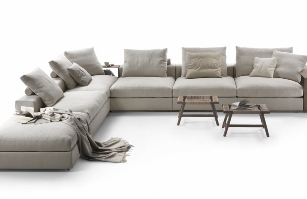 Groundpiece Sectional Sofa   by FLEXFORM | STUDIO COMO