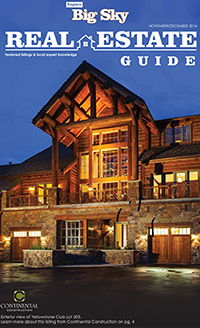 Explore Big Sky: Real Estate Guide 2014
