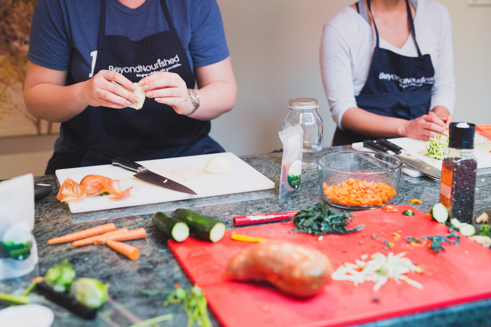 beyond nourished cooking classes