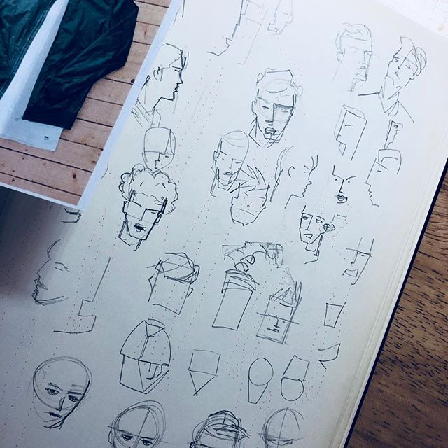 Exploring head designs for up and coming project. Why is it so hard to decide 😫😢⁉️ . . . #arttoys #handmade #costumedesign #artdaily #sketches #drawings #designertoys #design #actionfigure #concept #characterdesign #miniture #toycollector #toysofinstagram #toy #sculpture #おもちゃ #アートトワイ#アニメーション #人形 #ミニチュア #手作りケーキ