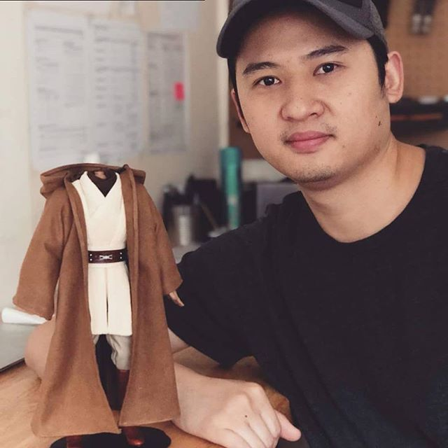 Been a long time follower of Khmerican; honored to be profiled for my work!  Repost from @khmrcn using @RepostRegramApp - My name is Chris Pin and I am a #NewYorkCity-based #Cambodian American toy artist, designer, and founder of @haute_hero. I specialize in handmade clothing, shoes, and accessories for collectible figures and best known for my work with leather sneakers. Before founding the company, I was as a fashion designer for @CONVERSE and John Varvatos. My unique mission is about bringing that design experience into collectible toys and to collectors.  My #Khmer community begins with my family and friends near #Tampa and St. Petersburg, Florida, where I was raised, and extends to small networks in California, Colorado, Texas, and more recently, New York City. I grew up going to Khmer bbq's and house parties; eating banh chai on thatched floor mats and playing Nintendo, legos, or tag with the other kids. Being around a strong Khmer community gave me a sense of family and belonging when it felt like no one else could see me as an individual. The strength of my Khmer identity comes from my parents; who proudly collect Khmer art and listen to Khmer music. Being influenced by Cambodian art, music, and history at a young age helped to guide me towards life in art and design.  I am passionate about participating in the future of fashion, art, and music. My dream is to bring together collectible toys and designer brands to change the way we think about fashion and culture.  Read more HOKA profiles at khmerican.com/hoka.  #khmerhecan #hoka #arttoyculture #designertoys #onesixthscale #designer #profile #media #cambodian #khmer #handmade #goals #toy #actionfigure #tailor #sewing #cambodianamerican #khmeramerican