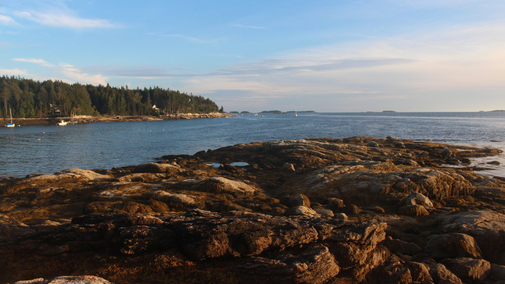 Ocean Views From Island Campsites at Flood's Cove