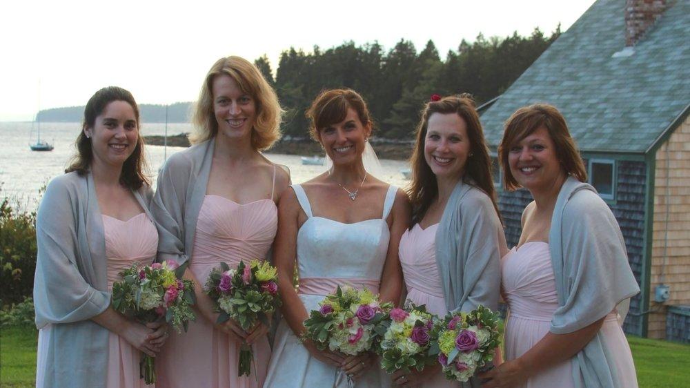 Wedding party, bridesmaids