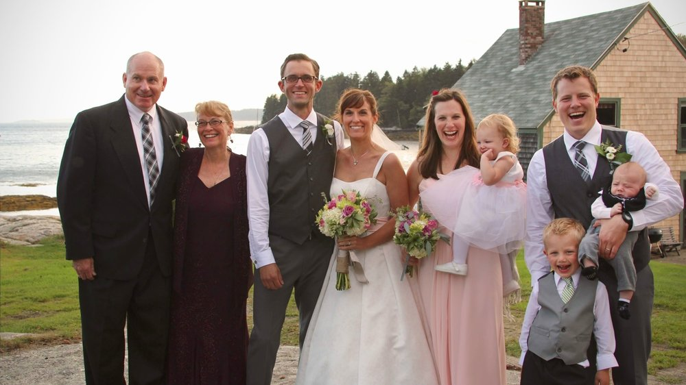 Maine weddings by the ocean