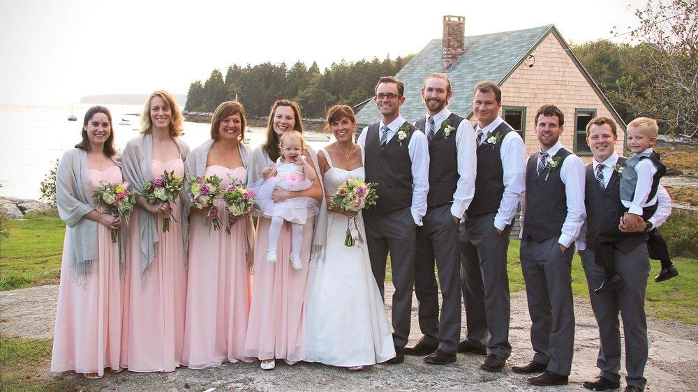 Best oceanfront wedding venue in Maine