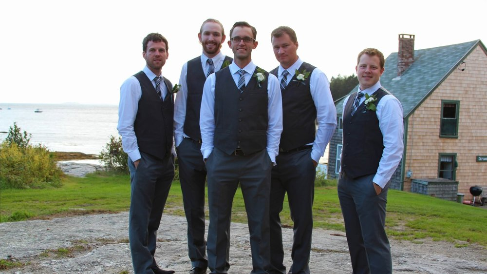 Get married by the ocean in Maine