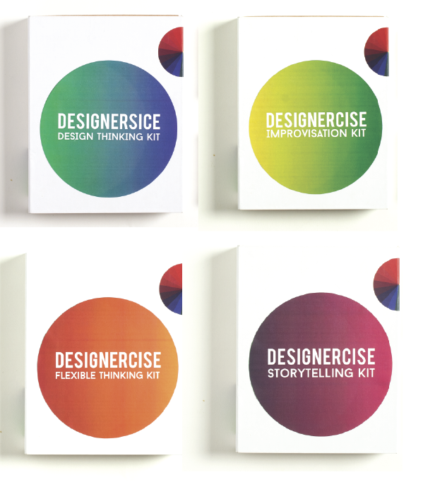 Small Designercise kits by Disrupt Design