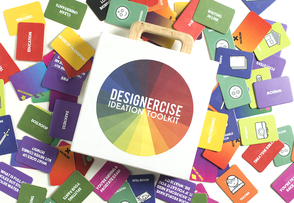 Designercise ideation toolkit by disrupt design