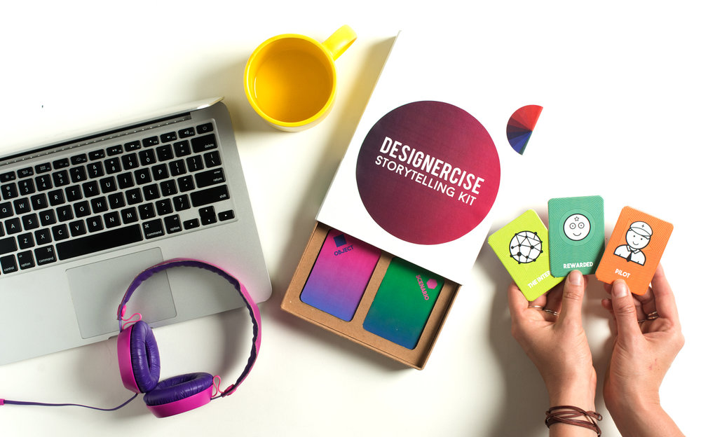 DESIGNERCISE IDEATION TOOLKIT/ Funded through Kickstarter / Released 2015