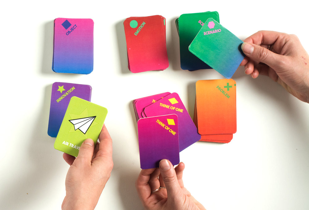 Designercise design thinking game for creative problem solving by disrupt design