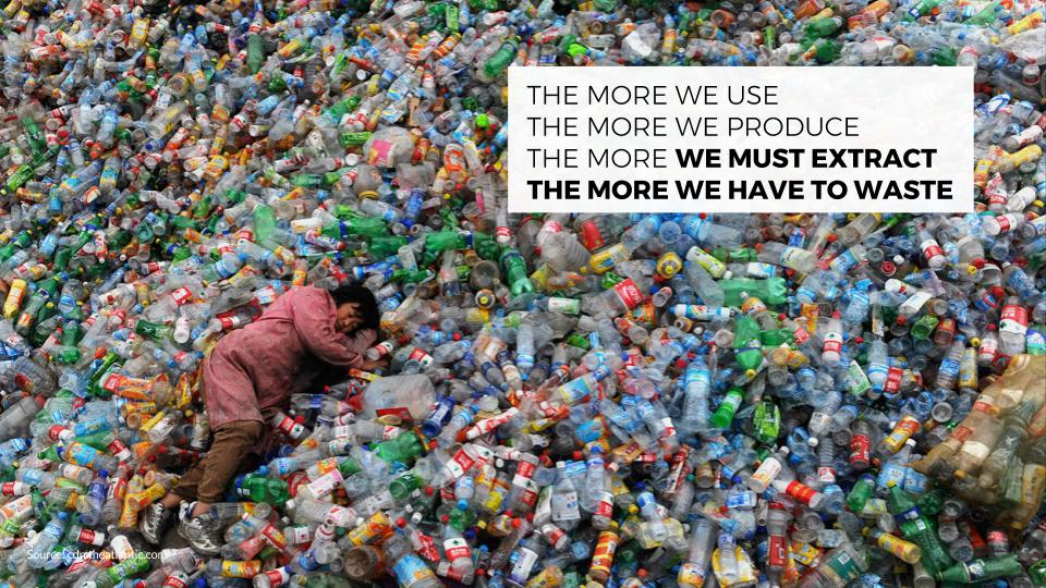 Products are currently designed to be thrown away - Everywhere you look, you will see single-use products intentionally created to be wasted