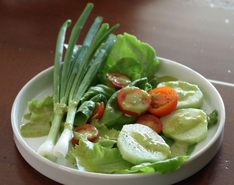 Garlic Scape Salad Dressing
