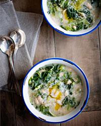 Canellini & Escarole Soup